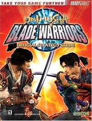 Cover of: Onimusha(tm) Blade Warriors Official Strategy Guide | Wes Ehrlichman