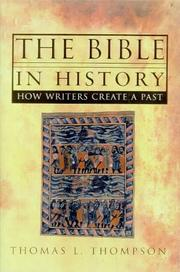 Cover of: The Bible in history