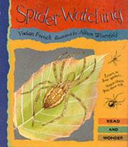 Cover of: Spider Watching (Read & Wonder)
