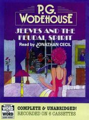 Cover of: Jeeves and the Feudal Spirit | P. G. Wodehouse