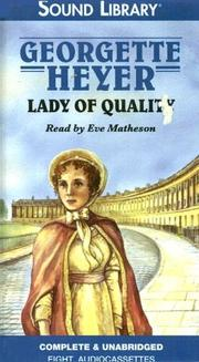 Cover of: Lady of Quality (Vet)