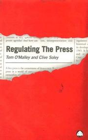 Cover of: Regulating the press