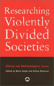 Cover of: Researching Violently Divided Societies |