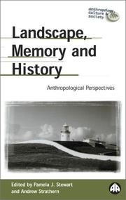 Cover of: Landscape, memory, and history