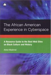 Cover of: The African American experience in cyberspace