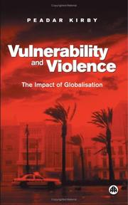 Cover of: Vulnerability and Violence | Peadar Kirby