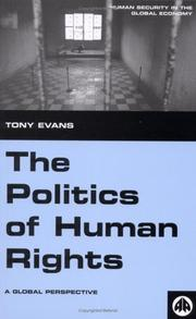 Cover of: The Politics of Human Rights