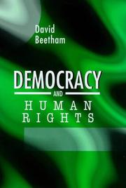 Cover of: Democracy and Human Rights