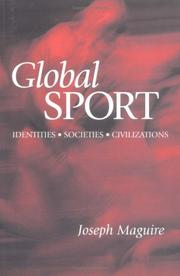 Cover of: Global Sport