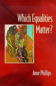 Cover of: Which Equalities Matter?
