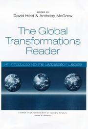 Cover of: The Global Transformations Reader |