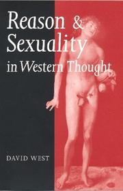 Cover of: Reason and sexuality in western thought