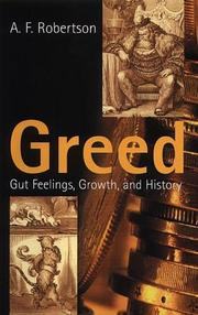 Cover of: Greed