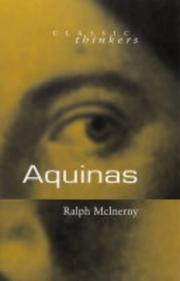 Cover of: Aquinas (Classic Thinkers)