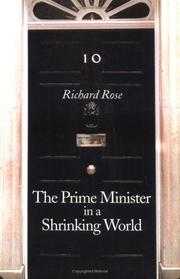 Cover of: The prime minister in a shrinking world