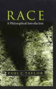 Cover of: Race | Paul C. Taylor