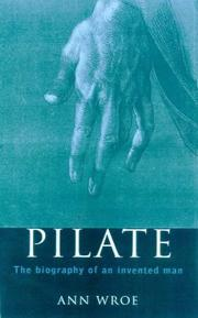 Cover of: Pilate