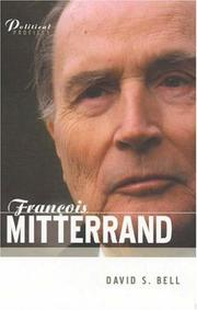 Cover of: Francois Mitterrand | David S. Bell