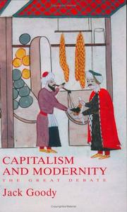Cover of: Capitalism and Modernity: The Great Debate
