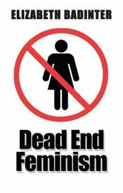 Cover of: Dead End Feminism