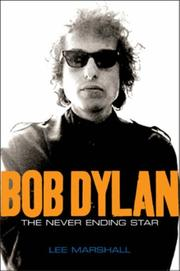 Cover of: Bob Dylan | Lee Marshall