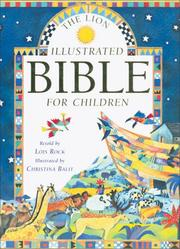 Cover of: The Lion Illustrated Bible for Children