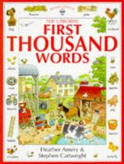 First Thousand Words by Heather Amery
