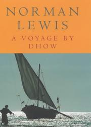Cover of: A VOYAGE BY DHOW