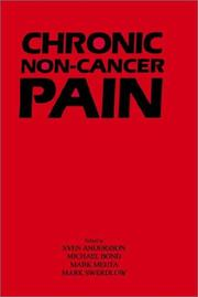 Cover of: Chronic Non-Cancer Pain: |