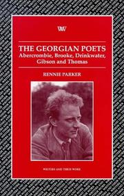 Cover of: The Georgian poets