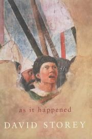 Cover of: As it happened | David Storey