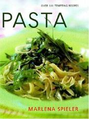 Cover of: Pasta | M. Spieler