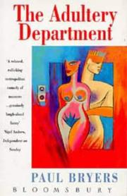 Cover of: The Adultery department