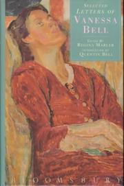 Cover of: The Letters of Vanessa Bell