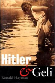 Cover of: Hitler and Geli