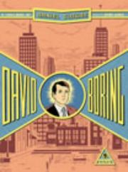 Cover of: David Boring