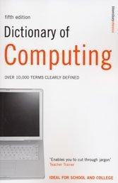 Cover of: Dictionary of computing