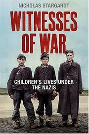 Cover of: Witnesses of War