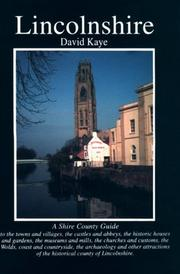 Cover of: Lincolnshire (County Guides)