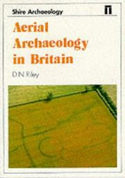 Cover of: Aerial archaeology in Britain | D. N. Riley