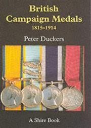 Cover of: British Campaign Medals 1815-1914