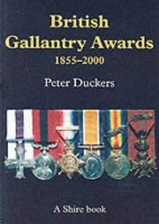 Cover of: British Gallantry Awards