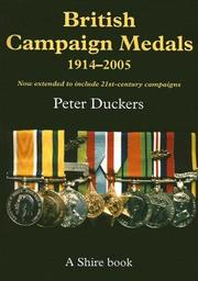 Cover of: British Campaign Medals 1914-2005
