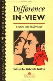 Cover of: Difference In View | G. Griffin