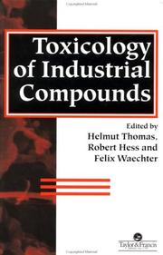 Cover of: Toxicology of industrial compounds