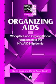 Cover of: Organizing AIDS