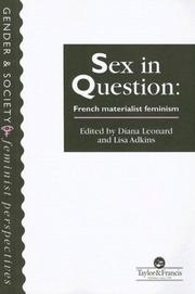 Cover of: Sex in question |