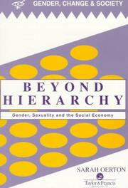 Cover of: Beyond hierarchy | Sarah Oerton