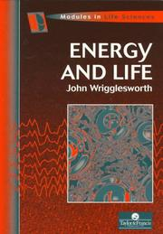 Cover of: Energy and life