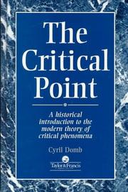 Cover of: The critical point